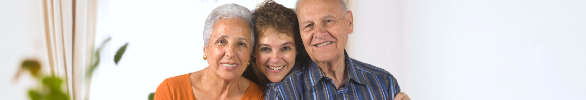 seniors with caregiver